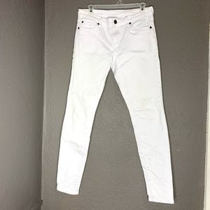 Kut From the Kloth white Skinny jeans size 6